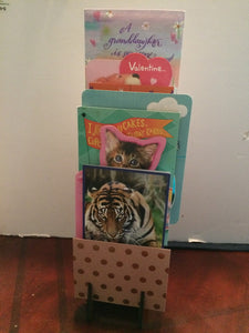 Greeting Card Display Rack