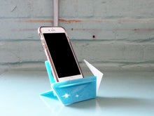 Load image into Gallery viewer, Phone Stand Docking Station - Mid Century Modern Style