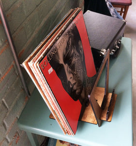 "Vinyl Record ""Now Playing"" (20 LP) Holder / Stand"