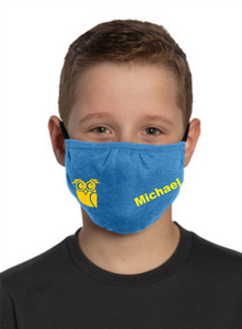 WESCOSVILLE Elementary Personalized Face Cover