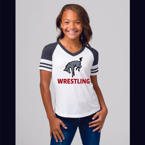Girls Muhlenberg Wrestling Tee