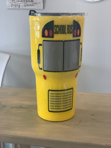 School Bus 30oz Tumbler
