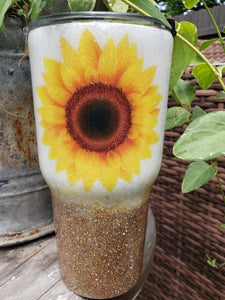 Sunflower  30oz Tumbler