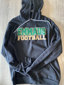 Emmaus Football Personalized Hood