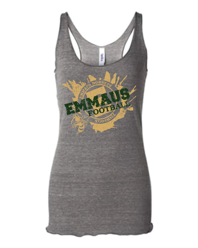 BELLA + CANVAS - Women's Triblend Racerback Tank Grey