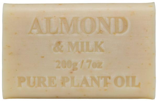 Australian Made Soap 200g - Almond & Milk