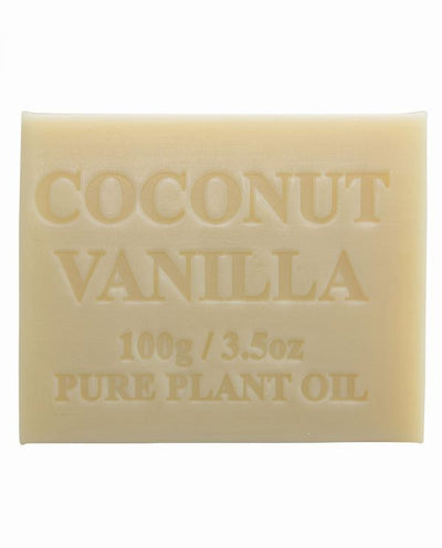 Australian Made Soap 100g - Coconut & Vanilla