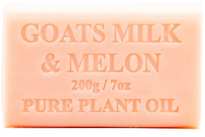 Australian Made Soap 200g - Goats Milk & Melon
