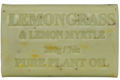 Australian Made Soap 200g - Lemongrass & Lemon Myrtle