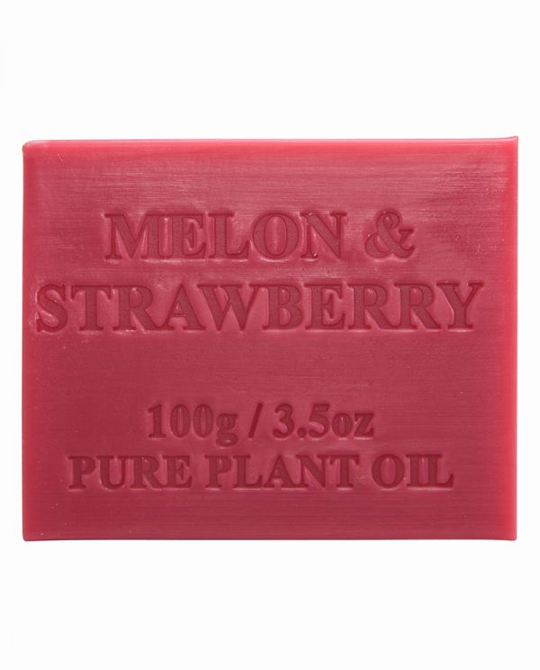 Australian Made Soap 100g - Melon & Strawberry