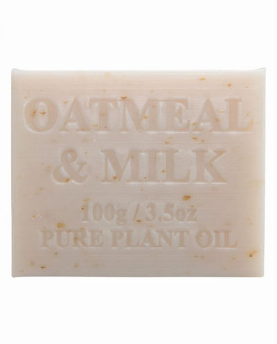Australian Made Soap 100g - Oatmeal & Milk