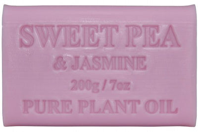 Australian Made Soap 200g - Sweet Pea & Jasmine
