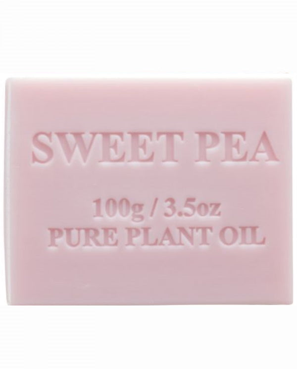 Australian Made Soap 100g - Sweet Pea
