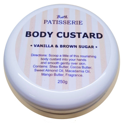 Body Custard - Vanilla & Brown Sugar