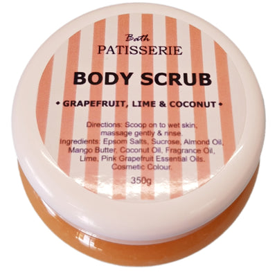 Body Scrub - Grapefruit, Lime & Coconut