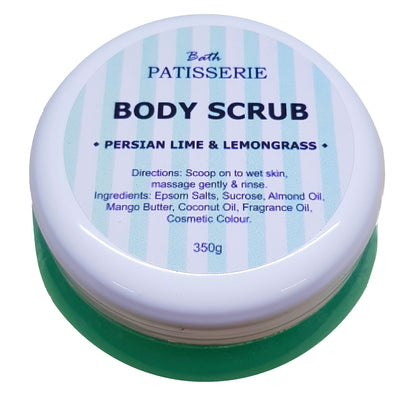 Body Scrub - Persian Lime & Lemongrass