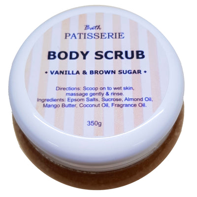Body Scrub - Vanilla & Brown Sugar