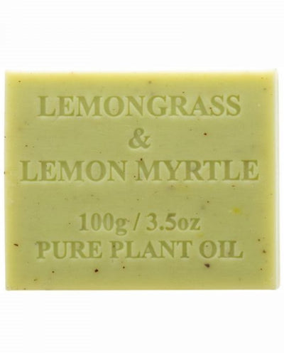 Australian Made Soap 100g - Lemongrass & Lemon Myrtle