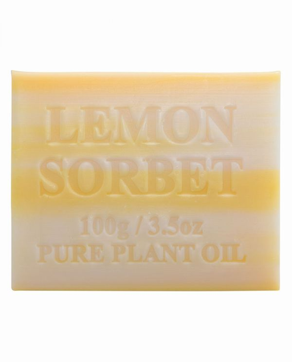 Australian Made Soap 100g - Lemon Sorbet
