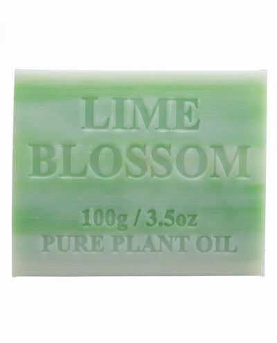 Australian Made Soap 100g - Lime Blossom