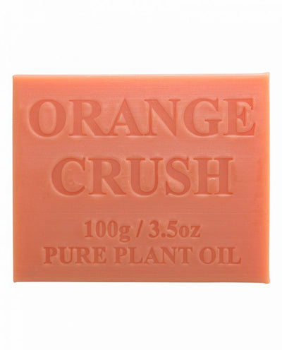 Australian Made Soap 100g - Orange Crush