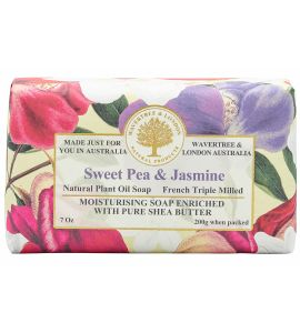 Wavertree & London Soap - Sweet Pea Jasmine