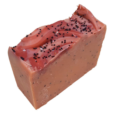 Tilba Goats Milk Soap - Orange Poppy Seed