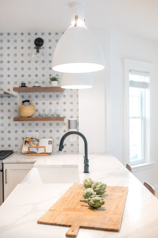Huron Kitchen Renovation by Gina Baran Interiors + Design featuring home decor items from Abode Shoppe