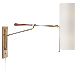 Frankfort Sconce Brass wall sconce lighting