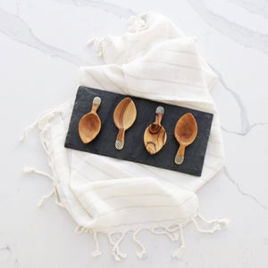 olive wood spoons make a great housewarming or holiday gift