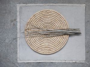 Handwoven Grass Placemat