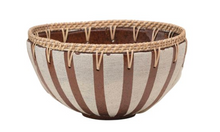 Load image into Gallery viewer, Coti Rattan Handmade Bowl