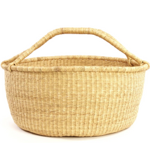 Load image into Gallery viewer, ovesized bolga basket perfect for storing blankets pillows + toys