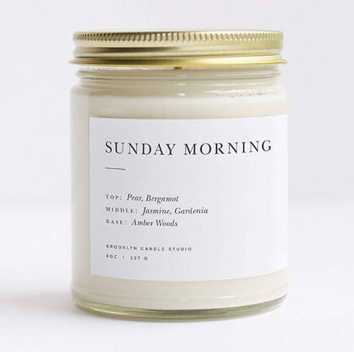 Sunday Morning Candle