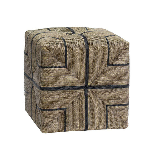 Fitzy Rope Ottoman