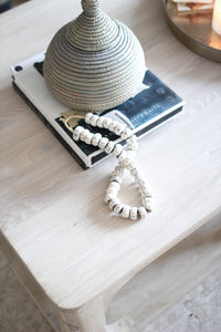bone beads perfect for styling on bookshelves or table tops