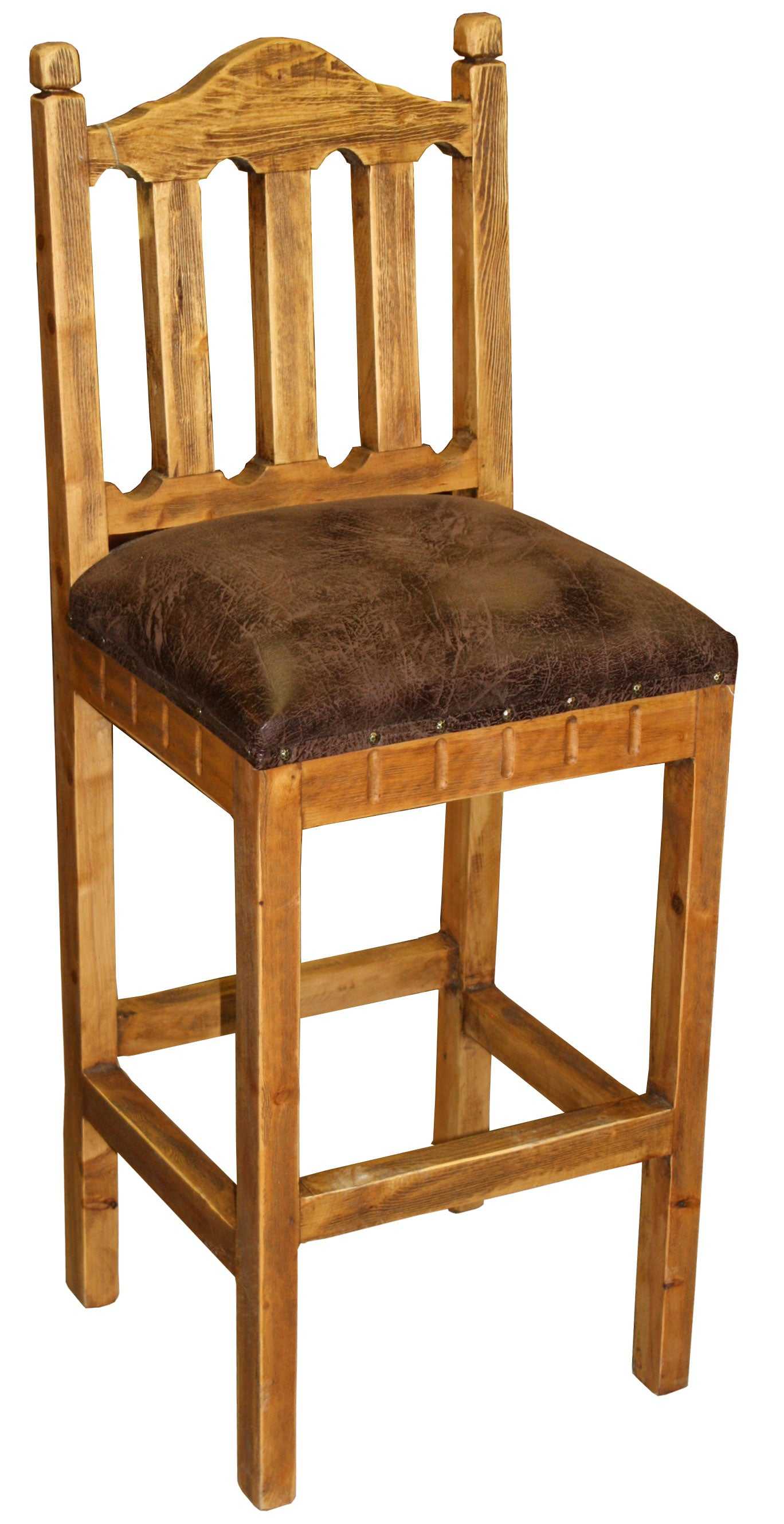 Hacienda Bar Stool Upholstered