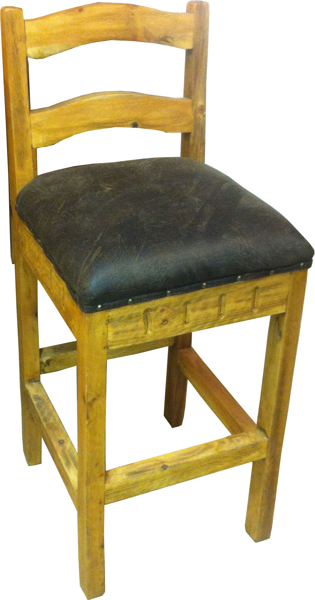 Provenzal Bar Stool Upholstered