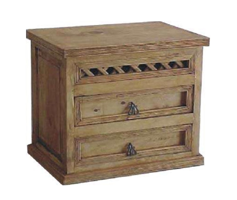 Emparrillado 2 Drawer Nightstand