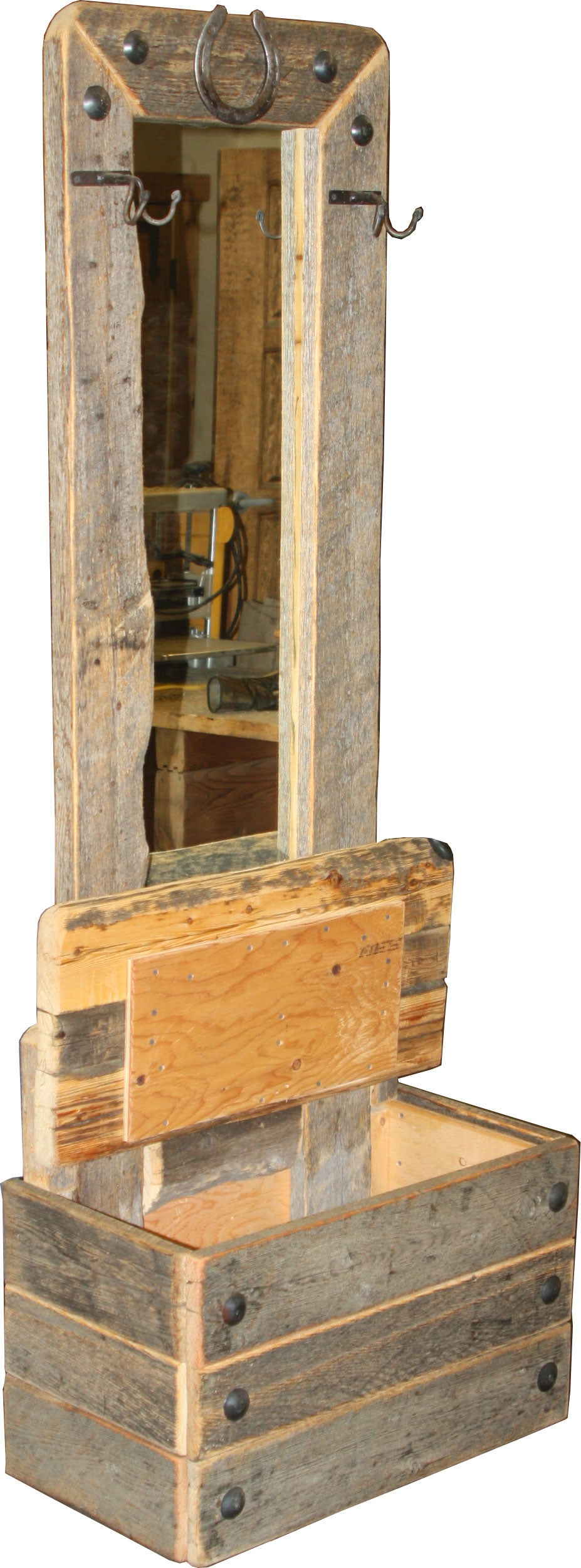 Barnwood Front Entrance Piece, Style #2