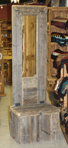 Barnwood Front Entrance Piece, Style #1