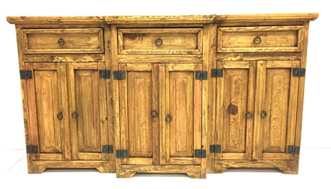 Antepecho Dresser 6 Doors, 3 Drawers