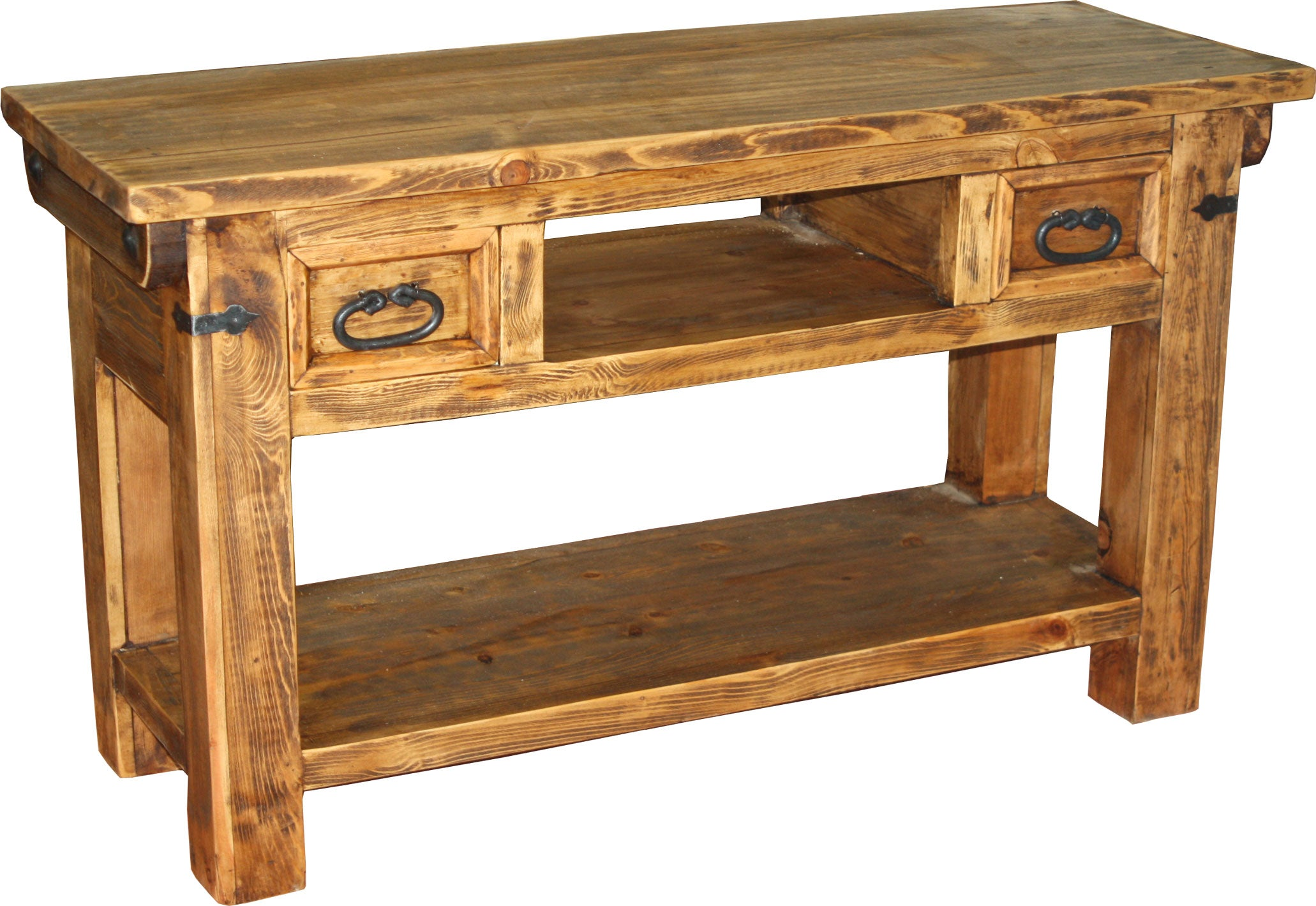 Lauro Console Table 2 drawer