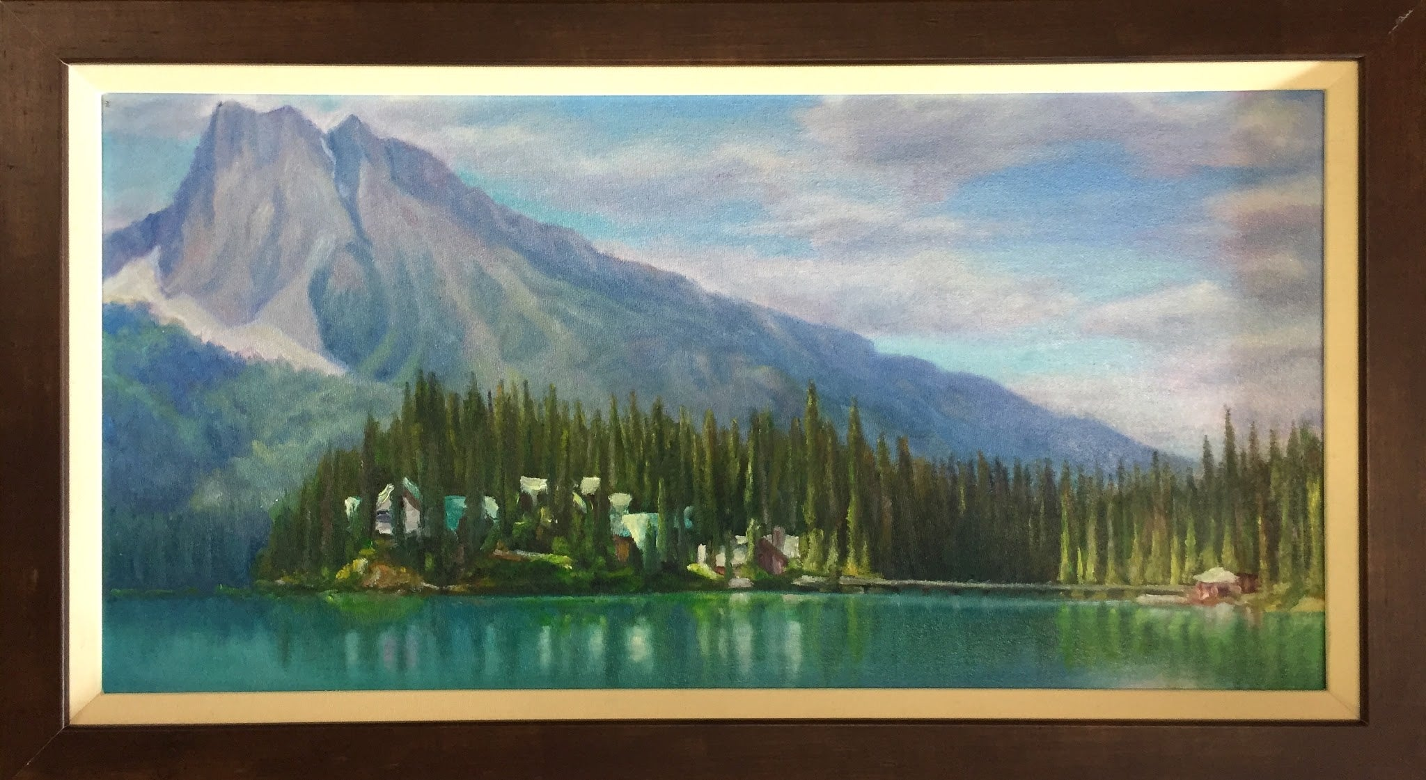 "Ray Swirsky: ""Emerald Lake Lodge"""
