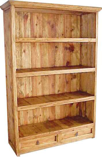 Abajo 2 Drawer Bookcase