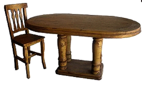 Oval Dining Table Counter Height
