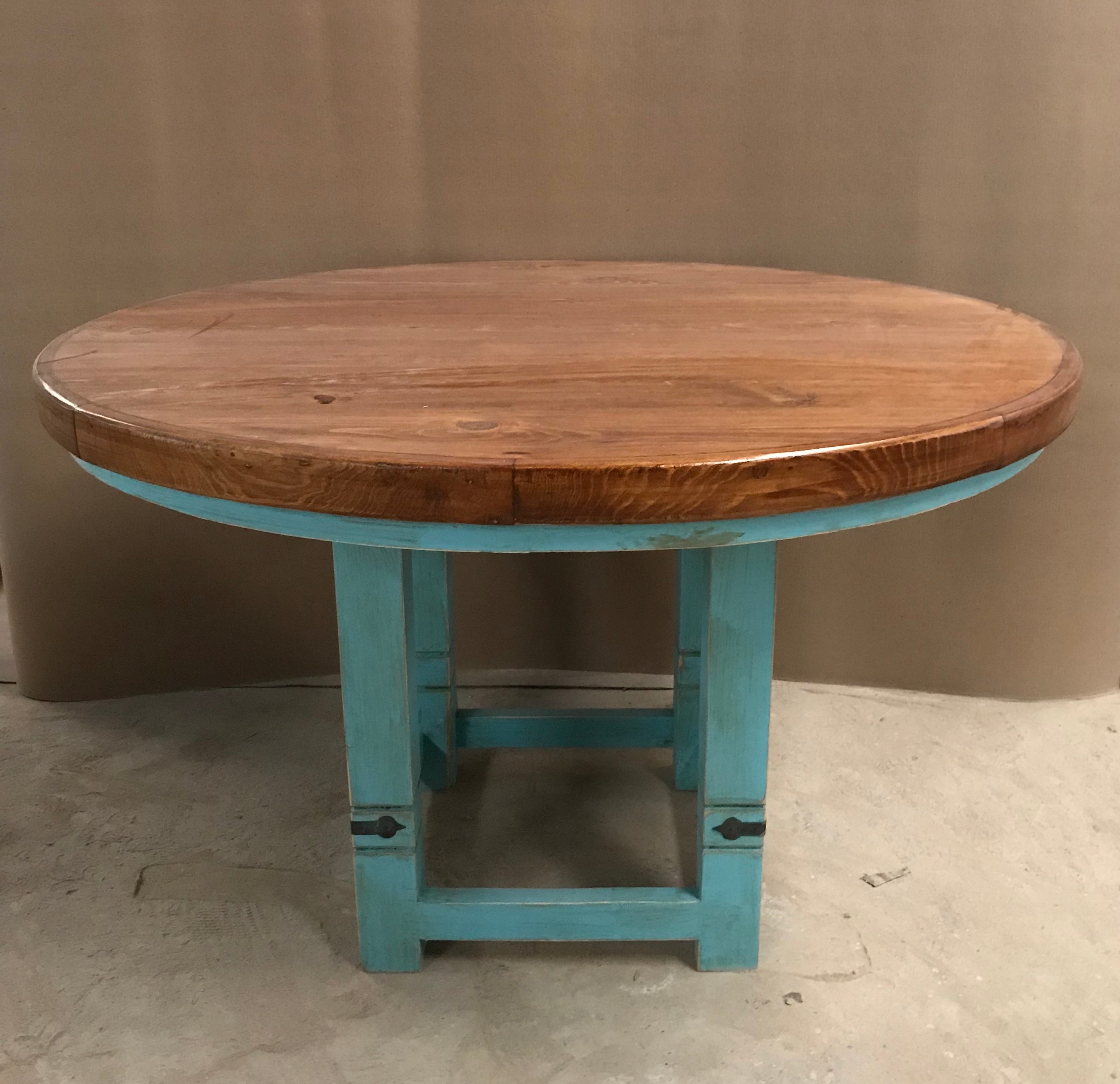 Lauro Round Dining Table 50 Turquoise