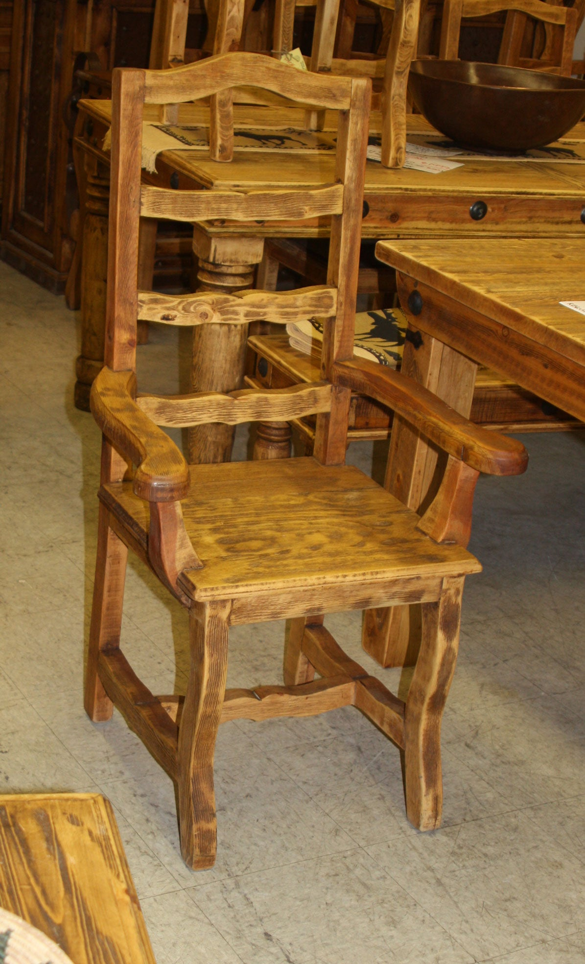 Provenzal Chair with arms