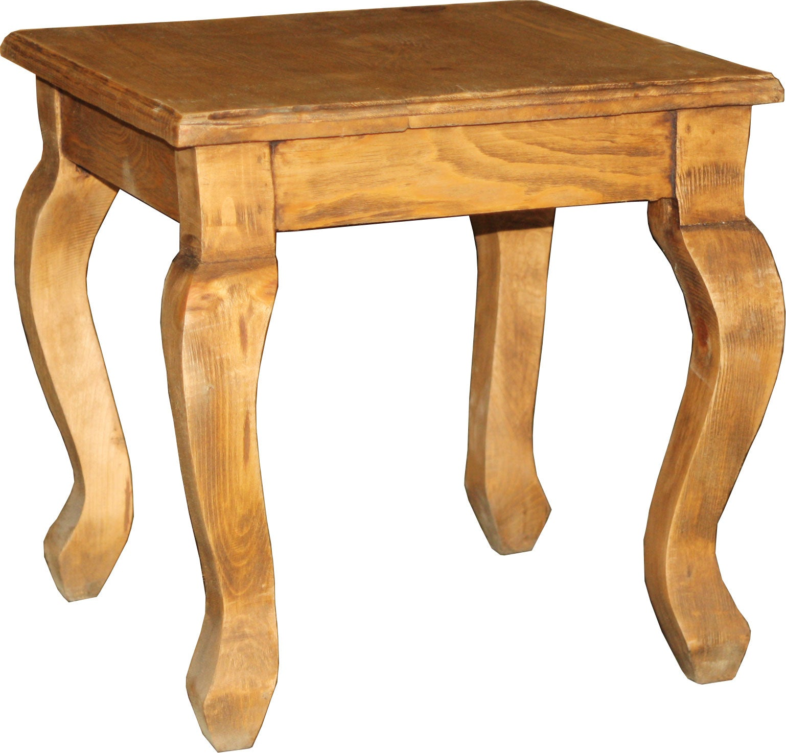 Tocador Wooden Stool