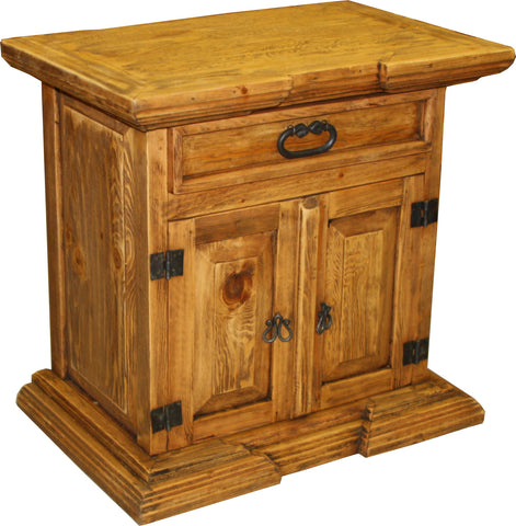 Crown de Cuadros Nightstand